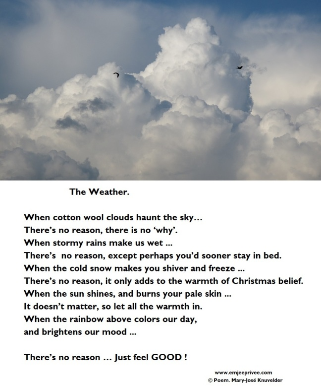 poem the weather 20-7-17