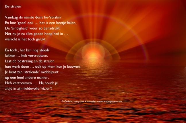 Ongekend Gedicht. Be-stralen – EmJeePrivee LS-74
